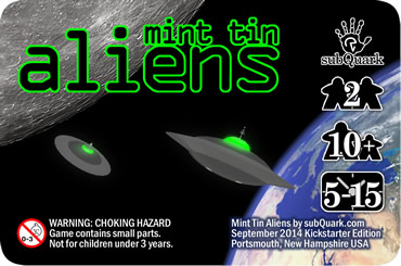 Mint Tin Aliens