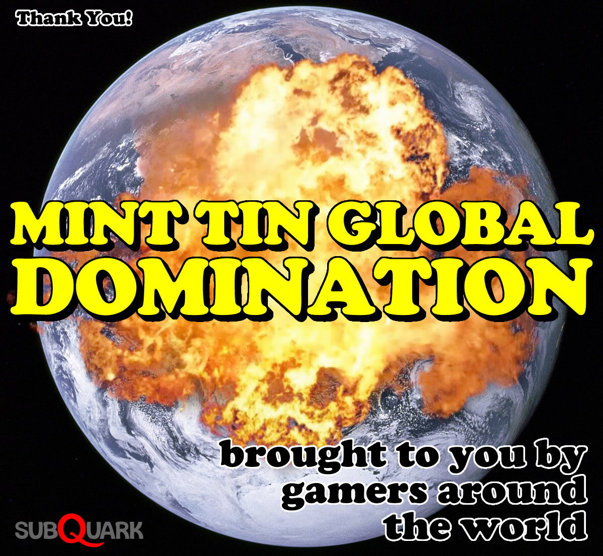 Mint Tin Games Global Domination