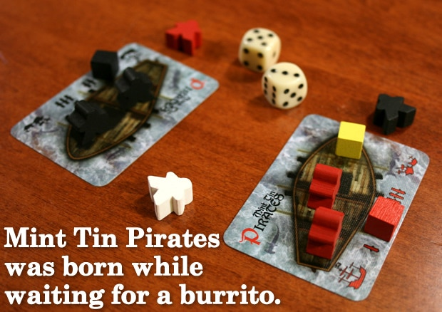 Mint Tin Pirates creation